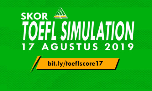 "HASIL ""FREE TOEFL SIMULATION"" 17 AGUSTUS 2019"
